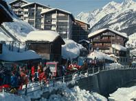 Российские туристы застряли в Альпах из-за снегопада и не могут вернуться домой