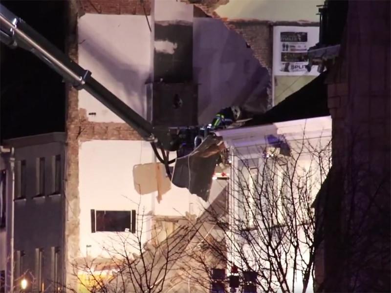 Два человека погибли, 14 получили травмы в результате взрыва, разрушившего три здания в бельгийском Антверпене