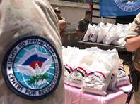 Россия доставила гуманитарную помощь в сирийский поселок на границе с Ливаном