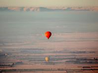 В Египте рухнул воздушный шар с туристами - есть погибший и раненые