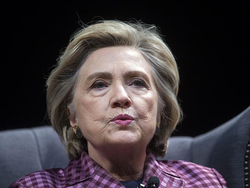 Экс-госсекретарь США Хиллари Клинтон