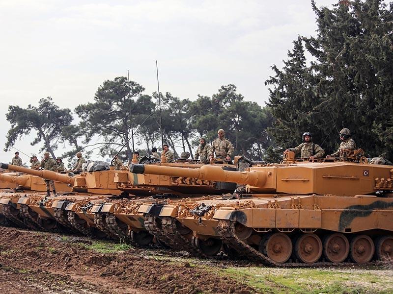 Курды готовятся к переброске дополнительных военных в Африн после обстрела региона ВС Турции
