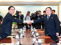 В совместном заявлении после 11 часов переговоров было подтверждено решение отправить северокорейских спортсменов на Олимпиаду в Пхенчхане, однако Пхеньян остался недоволен предложением возобновить переговоры по ядерной программе КНДР