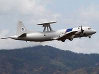 Российский истребитель совершил совершил небезопасный маневр рядом с самолетом-разведчиком ВМС США P-3 Orion во время полета в международном воздушном пространстве над Черным морем