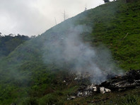 В Колумбии десять человек погибли при крушении военного вертолета российского производства Ми-17.  По данным агентства, на борту воздушного судна, вылетевшего из города Каукасия, находились восемь военнослужащих и два гражданских лица