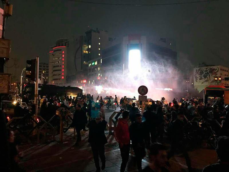 В Иране в дни восстания были задержаны около 3 700 человек