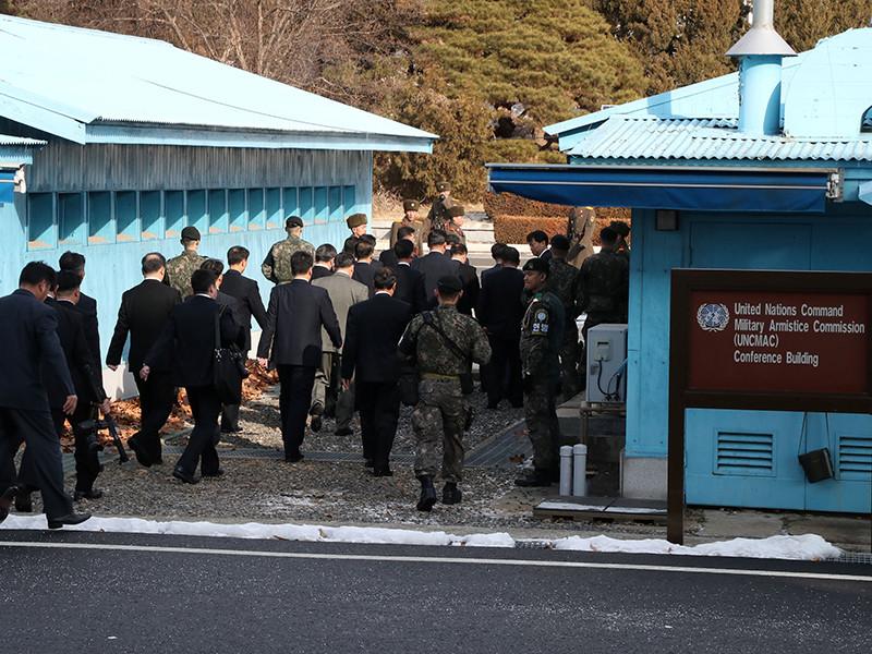 Северная и Южная Кореи обменялись предложениями на утренней встрече в рамках первых официальных переговоров между странами за более чем два года
