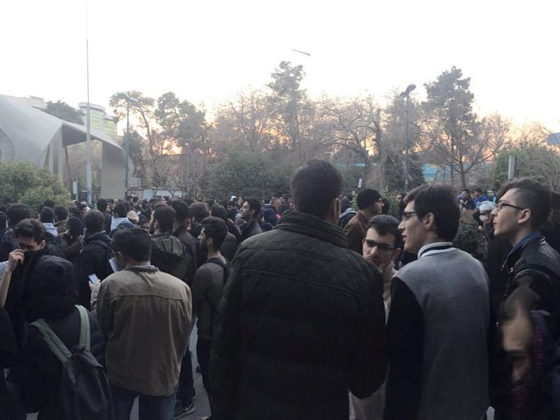 Тегеран, 30 декабря 2017 года