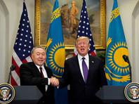 """""""Мы говорили о том, что """"Минск-1"""" застопорился, в тупике, нужен """"Минск-2"""". Он (Дональд Трамп) говорит: """"Давай в другом месте (проведем)"""". Я говорю: """"Давайте"""", - сказал Назарбаев"""