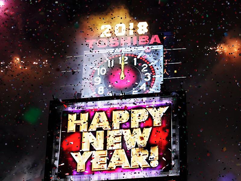 Новогодняя вечеринка на Таймс-сквер в Нью-Йорке в этом году оказалась одной из самых морозных в истории. Температура воздуха опустилась до -12 градусов по Цельсию, и жителям Большого яблока, собравшимся в ожидании обратного отсчета, пришлось согреваться танцами, выпивкой и многослойной одеждой