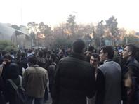 США обещают поддержку протестующим в Иране