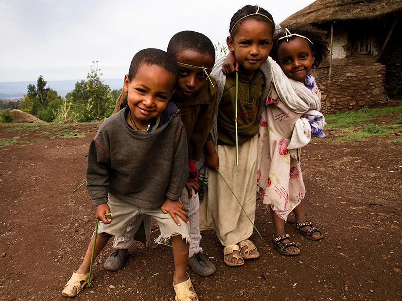 В Эфиопии иностранцам запретили  усыновлять детей