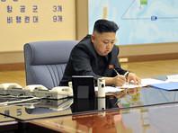 Ким Чен Ын, руководитель КНДР