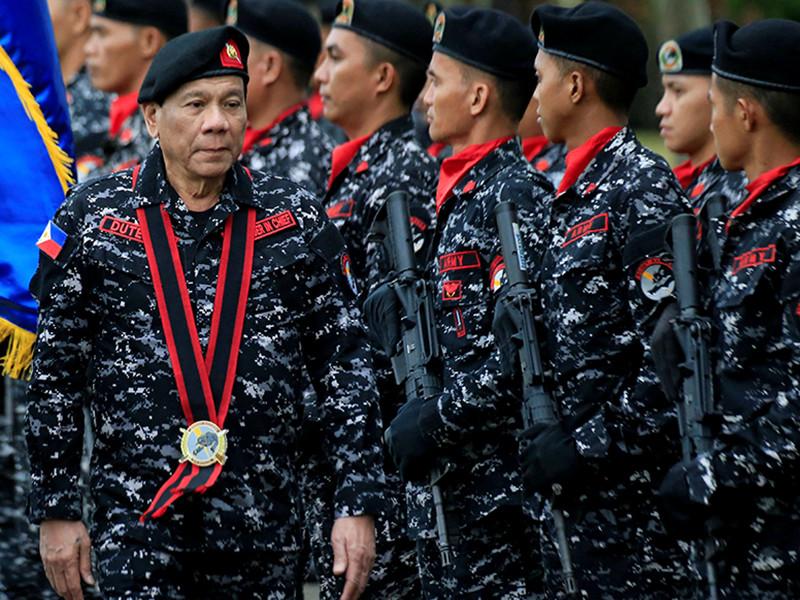 Президент Филиппин объяснил военным, в каком случае его можно пристрелить