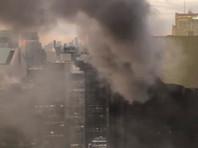 На Манхэттене загорелся небоскреб Trump Tower