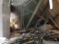 Более 70 человек пострадали при обрушении балкона в здании фондовой биржи в Джакарте (ВИДЕО)