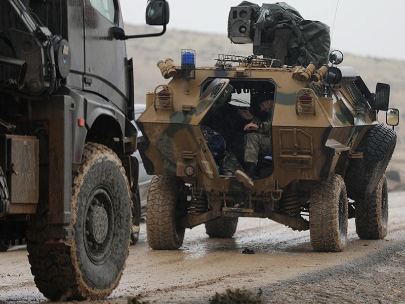 Турецкие военные заявили о ликвидации почти 400 курдов с начала операции в Африне