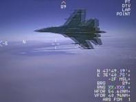 Пентагон опубликовал ВИДЕО опасного перехвата американского самолета-разведчика российским истребителем