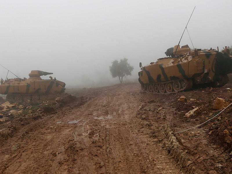 """Военные Турции уничтожили по меньшей мере 260 """"террористов"""" в ходе турецкой операции """"Оливковая ветвь"""" в Сирии"""