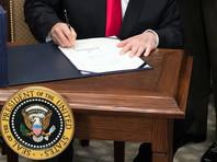 """Черные списки и предложения по санкциям против РФ готовятся в соответствии с требованиями подписанного Трампом в августе прошлого года закона """"О противодействии противникам Америки посредством санкций"""" (CAATSA)"""