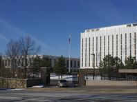 Здание посольства России в Вашингтоне, столице США