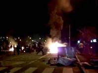 Протесты, нередко перераставшие в беспорядки, охватили и другие населенные пункты