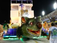 Главный приз карнавала в Рио получила школа самбы, показавшая правительство страны в виде гигантской крысы (ФОТО, ВИДЕО)