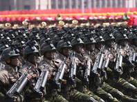 В Пхеньяне накануне открытия Олимпиады прошел полузасекреченный военный парад
