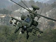 Вертолет японских Сил самообороны AH-64 упал в понедельник, 5 февраля, на частный жилой дом в префектуре Сага на западе страны