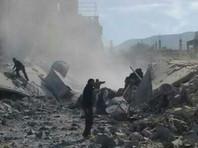 """В разговоре с журналистами официальный представитель добровольческой спасательной организации """"Белые каски"""" сообщил о том, что накануне, 4 февраля, в провинции Идлиб с вертолетов были сброшены две бочки, внутри которых находился ядовитый газ"""