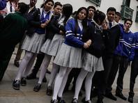 Студентки в Колумбии протестуют против  сексистского дресс-кода (ФОТО)