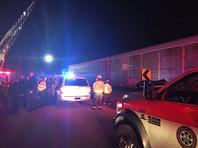 В США столкнулись грузовой и пассажирский поезда: двое погибших