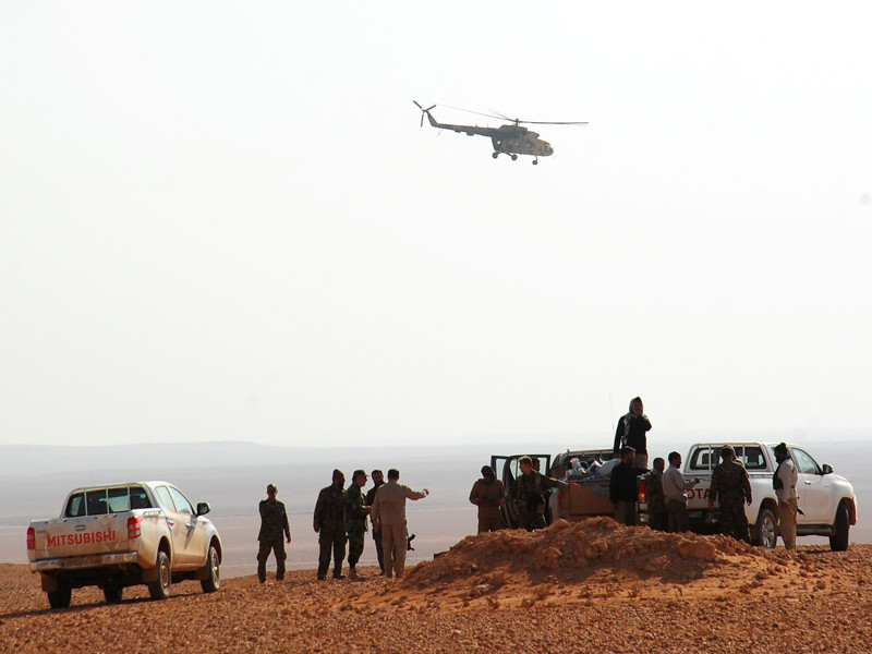 Правительственные войска Сирии, провинция Дейр-эз-Зор, ноябрь 2017 года