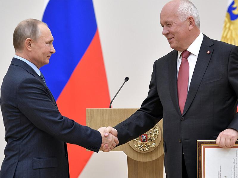 """Чемезов поведал The Washington Post о сплочении элит вокруг Путина благодаря """"кремлевскому докладу"""""""