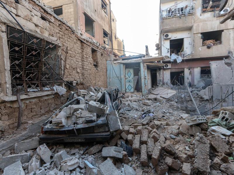 Сирия, январь 2018 года