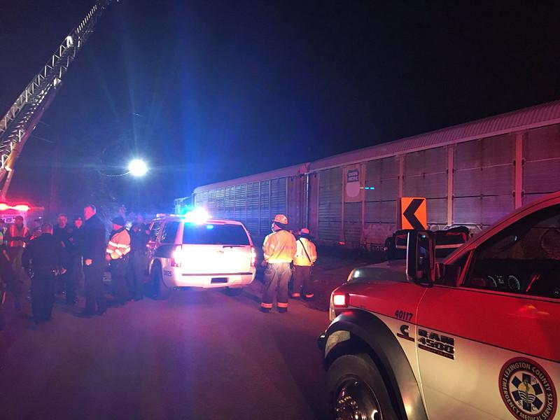 В штате Южная Каролина на юго-востоке США столкнулись пассажирский и грузовой поезда