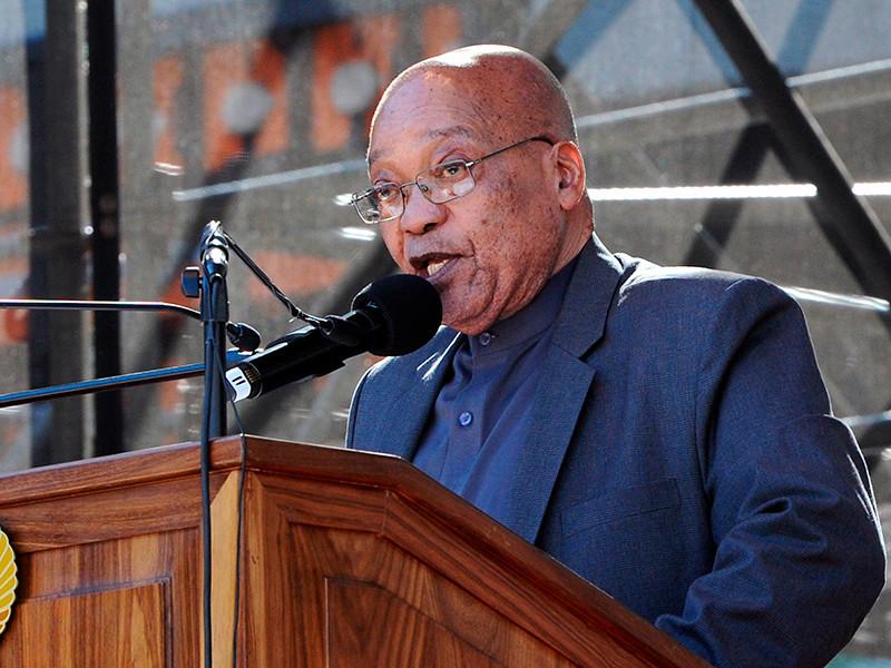 """Президент ЮАР Джейкоб Зума подчинился требованию исполнительного комитета правящей партии страны """"Африканского национального конгресса"""" и согласился добровольно уйти в отставку."""