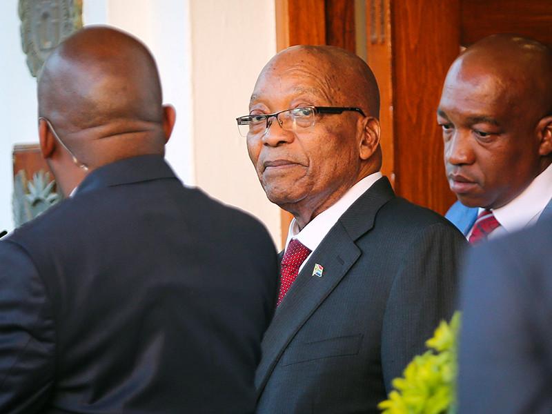 Правящая партия ЮАР дала президенту 48 часов на то, чтобы уйти в отставку