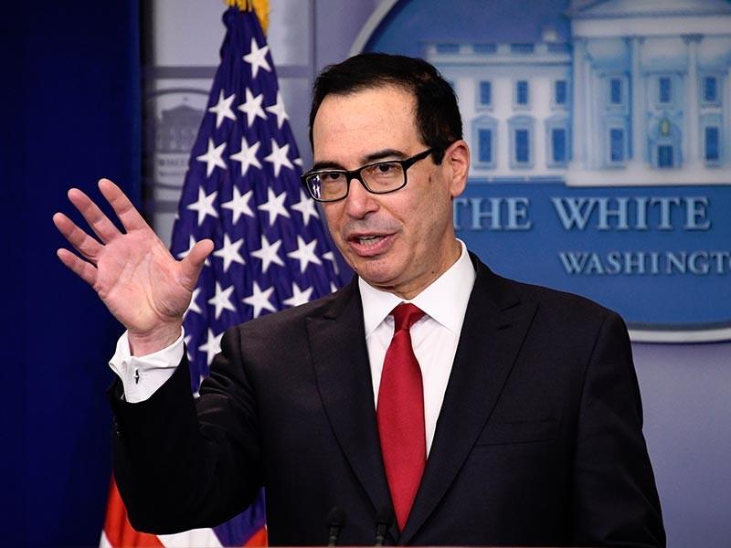 Министр финансов США Стивен Мнучин сообщил, что Соединенные Штаты не будут вводить санкции в отношении государственного долга России