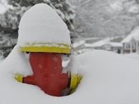 В аэропортах США из-за сильного снегопада отменили более 1200 рейсов (ФОТО)
