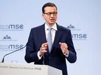 Премьер Польши вызвал гнев Израиля, заявив о причастности евреев к Холокосту