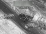 CNN опубликовал видео авиаударов коалиции в Дейр-эз-Зоре, где, по информации СМИ, погибли более 200 российских наемников