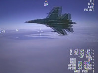 Пентагон выложил еще 5 видео опасных маневров Су-27 во время перехвата самолета-разведчика Aries