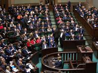 Сенат Польши принял закон о запрете идеологии украинских националистов