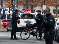 Американка на автомобиле врезалась в заграждение у Белого дома