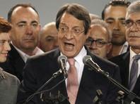 Действующий президент Кипра Никос Анастасиадис одержал победу на выборах