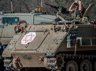 Израиль в ответ на взрыв фугаса обстрелял сектор Газа из танка