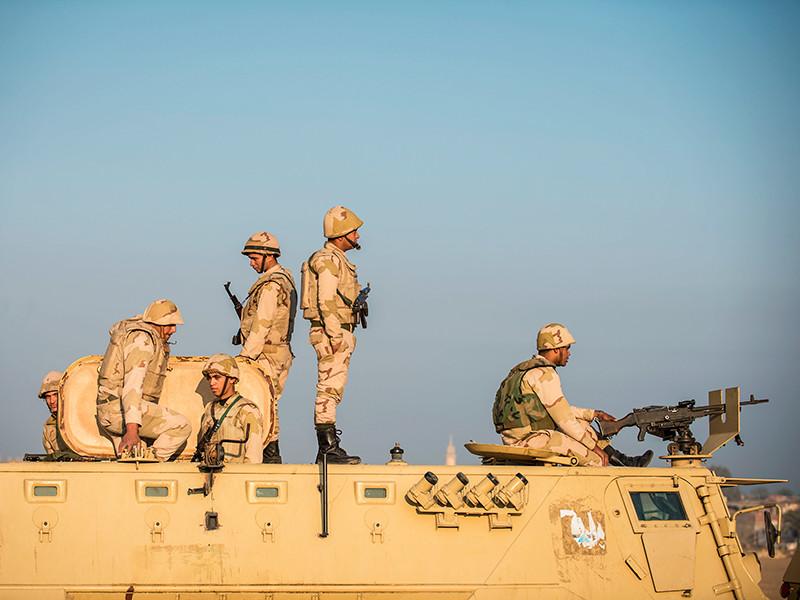 Армия Египта начала контртеррористическую операцию на Синае