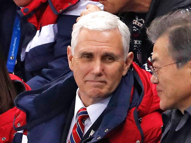 Вице-президент США Майк Пенс во время Олимпиады в Пхенчхане должен был встретиться с делегацией северокорейских чиновников