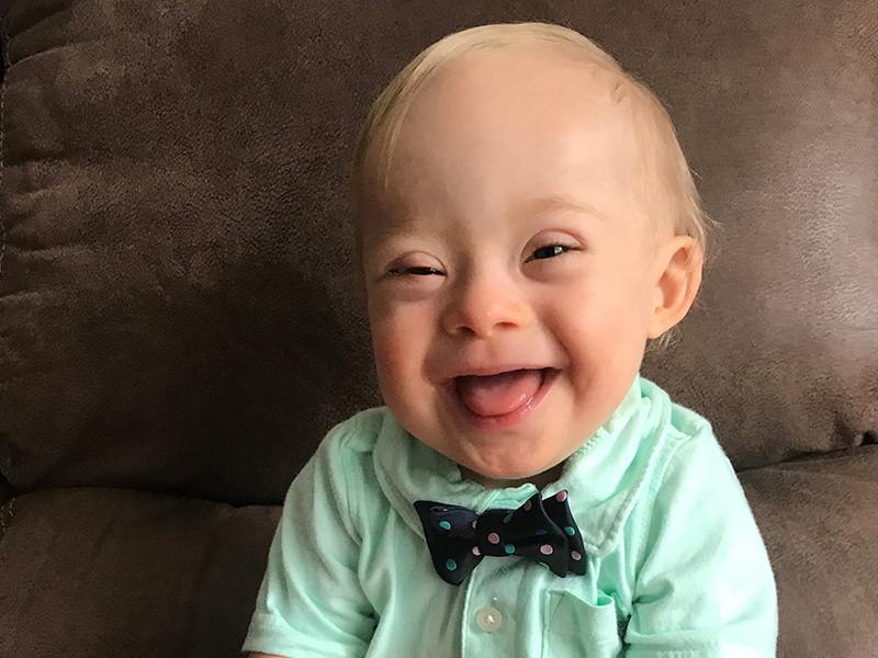 Лукас Уоррен из американского штата Джорджия станет первым ребенком с синдромом Дауна, ставшим лицом бренда, известного с начала XX века